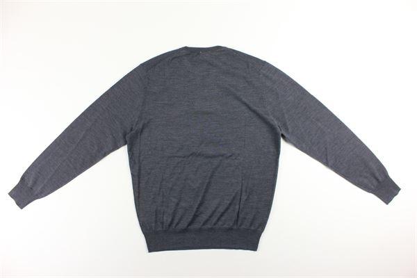 maglia girocollo tinta unita ASPESI | Maglie | 4831GRIGIO