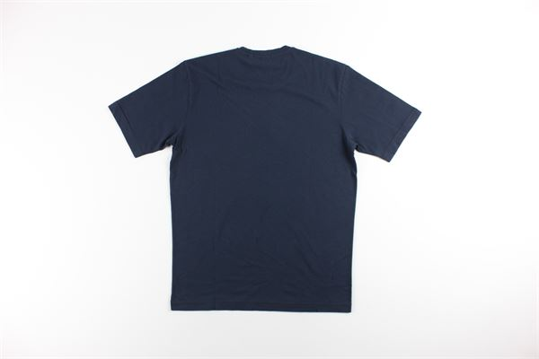 t-shirt mezza manica tinta unita con taschino ASPESI | T-shirts | A335BLU