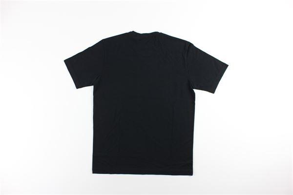 t-shirt mezza manica tinta unita con taschino ASPESI | T-shirts | A335NERO
