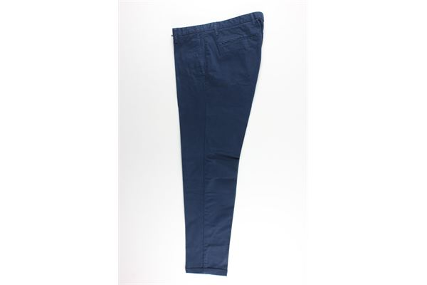 pantalone tasca america tinta unita 100%cotone AT.P.CO. | Pantaloni | A191SASA45BLU