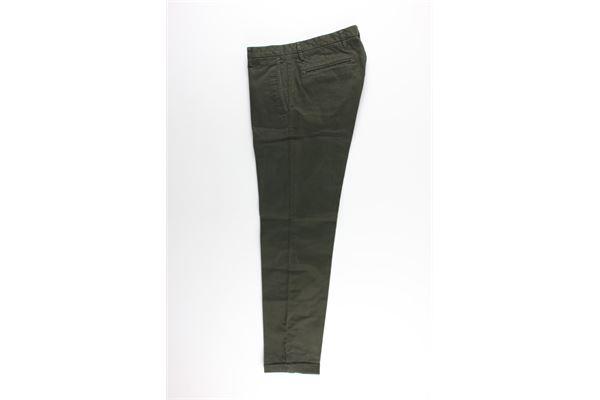 pantalone tasca america tinta unita 100%cotone AT.P.CO. | Pantaloni | A191SASA45VERDE MILITARE