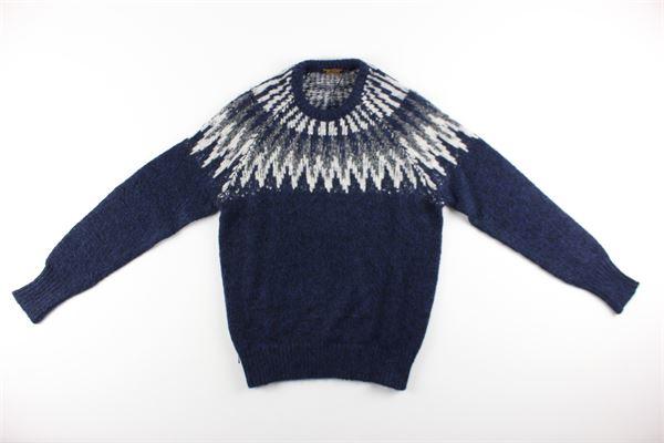 maglia girocollo tinta unita AT.P.CO. | Maglie | A19470BLU