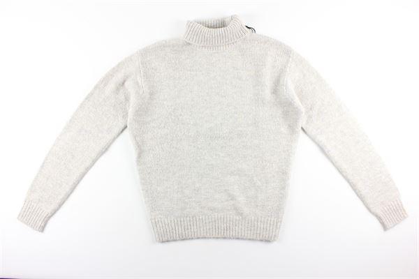 maglia collo alto tinta unita AT.P.CO. | Maglie | MAGLIE2BEIGE