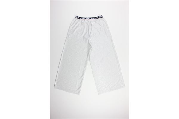 BALMAIN | Trousers | 6M6110ARGENTO