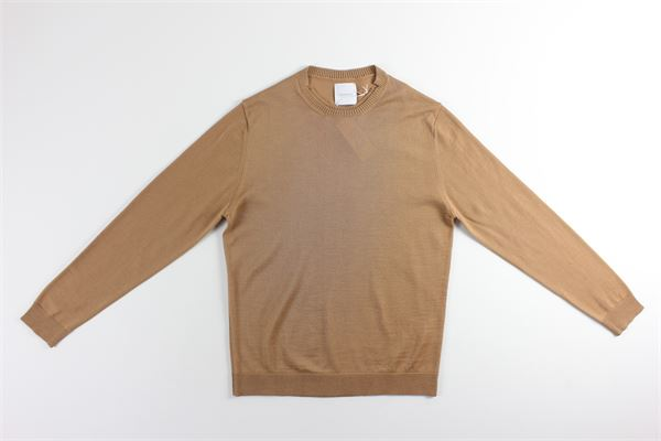 maglia girocollo tinta unita BELLWOOD | Maglie | 320M0021CAMMELLO