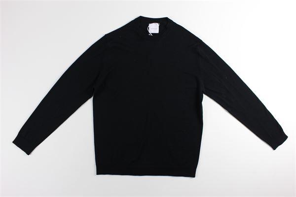 maglia girocollo tinta unita BELLWOOD | Maglie | 320M0021NERO