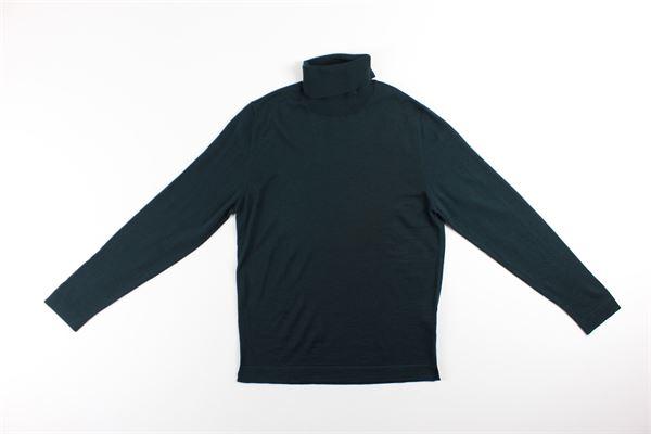 maglia collo alto tinta unita BELLWOOD | Maglie | 320M0104VERDE