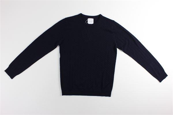 maglia girocollo tinta unita BELLWOOD | Maglie | 320M0501BLU