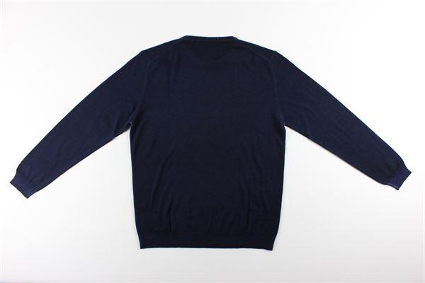 maglia girocollo tinta unita BELLWOOD | Maglie | 320M1301BLU