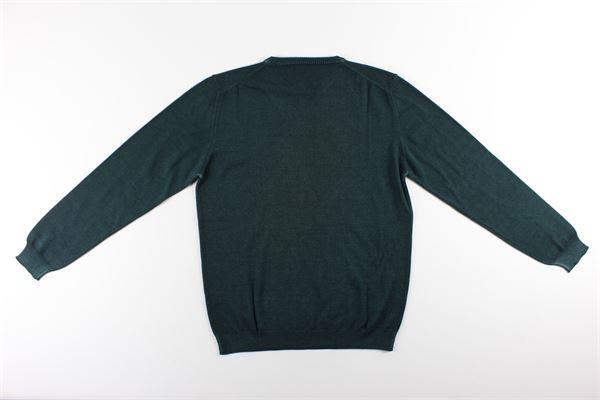 maglia girocollo tinta unita BELLWOOD | Maglie | 320M1301VERDE