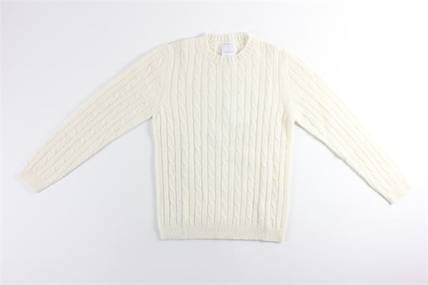 maglia microfantasia tinta unita BELLWOOD | Maglie | 320W5101/01PANNA
