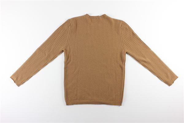 maglia girocollo tinta unita BELLWOOD | Maglie | 329K750CAMMELLO