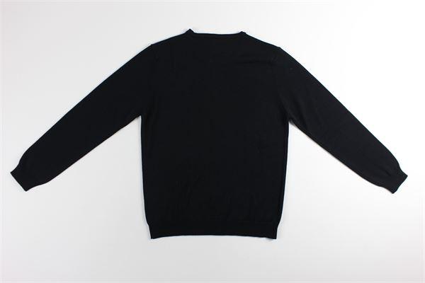maglia girocollo tinta unita BELLWOOD | Maglie | 329R0601NERO