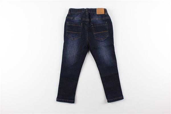 jeans tinta unita elastico in vita BIRBA | Jeans | 99972501BLU