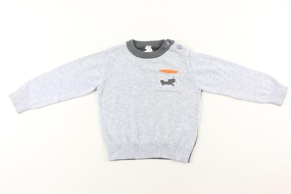 maglia bicolore con taschino BIRBA | Maglie | 9997616GRIGIO