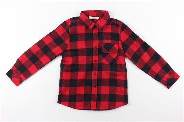 camicia manica lunga fantasia quadri BIRBA | Camicie | 99990013ROSSO