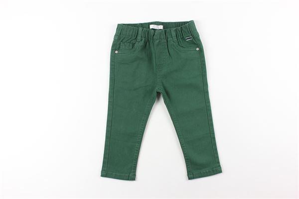 pantalone tinta unita elastico in vita BIRBA | Pantaloni | 99992011VERDE