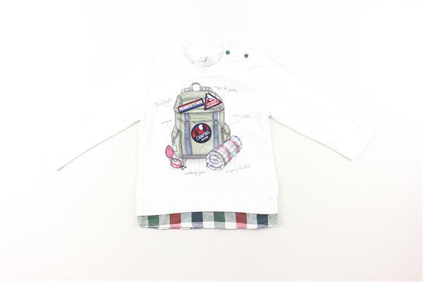 shirt tinta unita con stampa BIRBA | Shirts | 99994044BIANCO