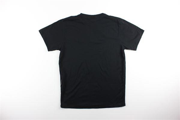 t-shirt tinta unita con stampa BLACK CIRCUS | T-shirts | TSU61SNERO
