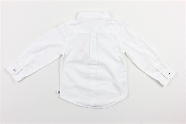 camicia tinta unita BOBOLI | Camicie | 71101BIANCO