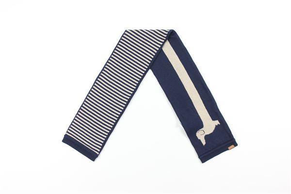 sciarpa bicolore BOBOLI | Sciarpe | 711335BLU