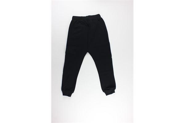 pantalone tuta tinta unita con stampa BOY LONDON | Pantaloni | PFBL183200JNERO