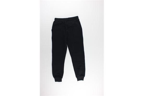 pantalone tuta tinta unita con stampa BOY LONDON | Pantaloni | PFBL183201JNERO