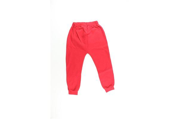 pantalone tuta tinta unita con stampa BOY LONDON | Pantaloni | PFBL183216JROSSO