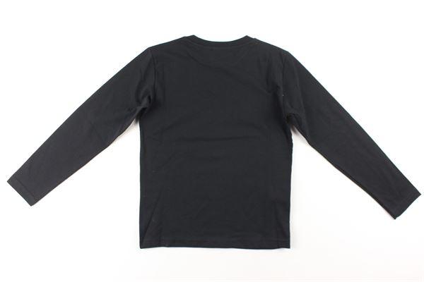 shirt tinta unita con stampa BOY LONDON | Shirts | TSBL006NERO