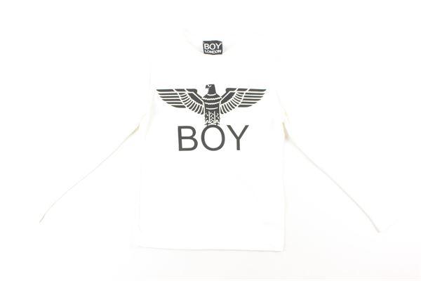 t-shirt tinta unita con stampa BOY LONDON | T-shirts | TSBL051JBIANCO