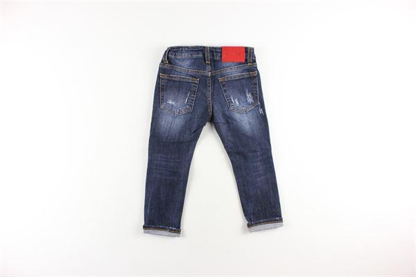 jeans tinta unita 5 tasche girovita regolabile BRIAN RUSH   Jeans   DENIM13BLU