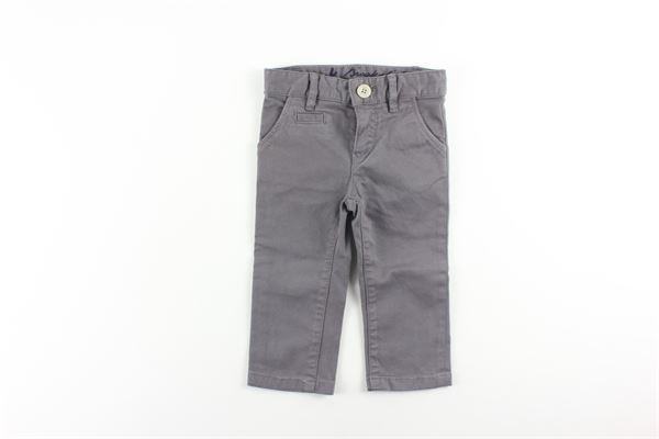 pantalone tinta unita con girovita regolabile BROOKSFIELD | Pantaloni | PA52FANGO