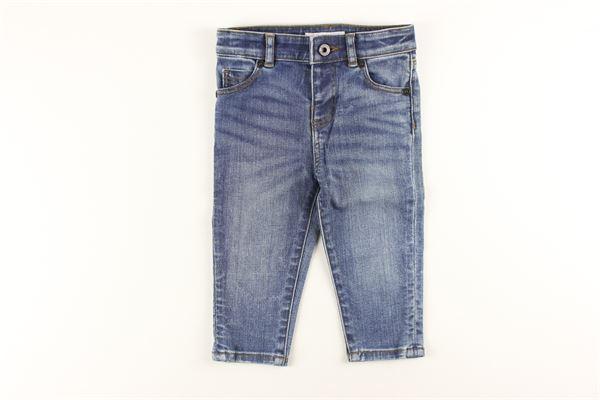 jeans 5 tasche con girovita regolabile BURBERRY | Jeans | 4063467JEANS