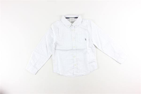 camicia tinta unita fantasia a quadri CARRE'MENT BEAU | Camicie | Y25221BIANCO