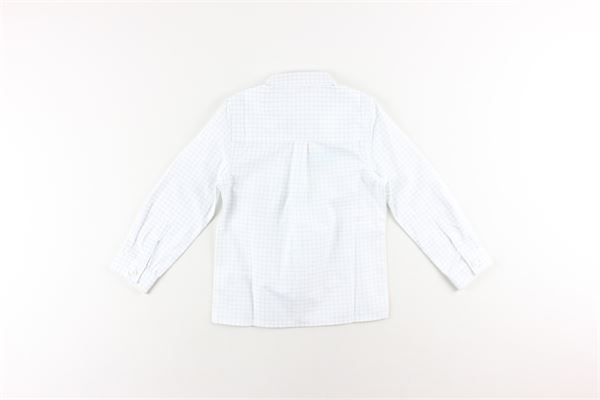 camicia tinta unita fantasia a quadri CARRE'MENT BEAU | Camicie | Y25255BIANCO