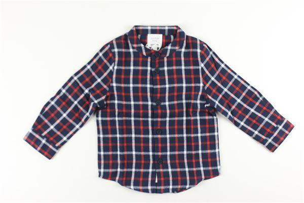 camicia manica lunga fantasia quadri CARRE'MENT BEAU | Camicie | Y25271BLU