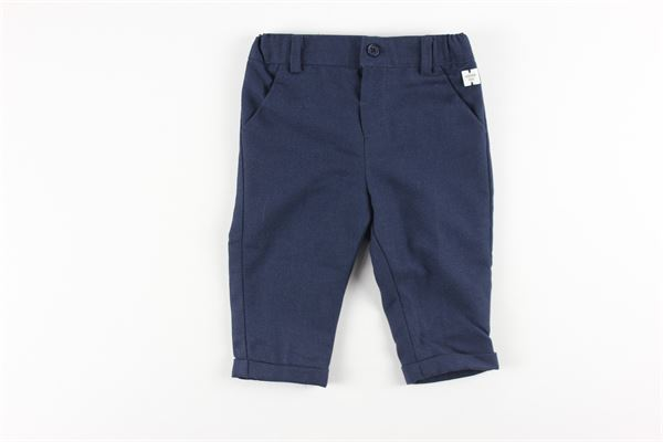 pantalone tinta unita elastico in vita CARRE'MENT BEAU | Pantaloni | Y94088BLU