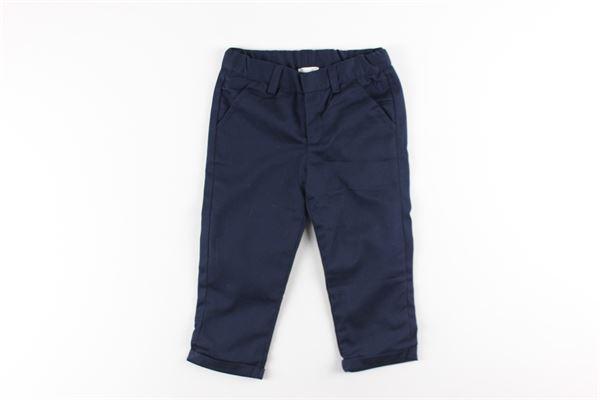 pantalone tinta unita girovita regolabile tasca america CARRE'MENT BEAU | Pantaloni | Y94142BLU