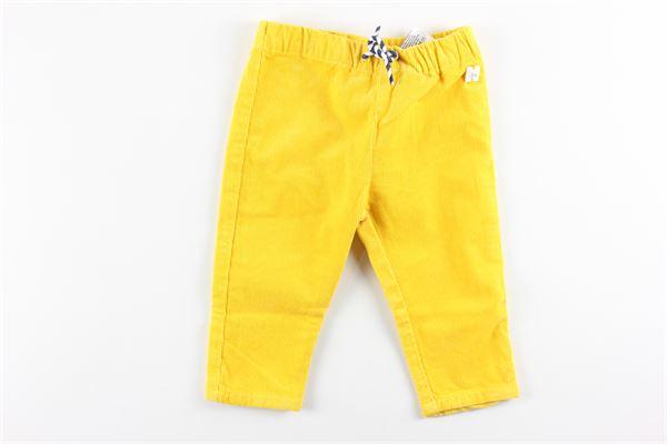 pantalone tinta unita elastico in vita CARRE'MENT BEAU | Pantaloni | Y94191GIALLO