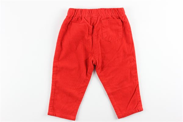 pantalone tinta unita elastico in vita CARRE'MENT BEAU | Pantaloni | Y94191ROSSO