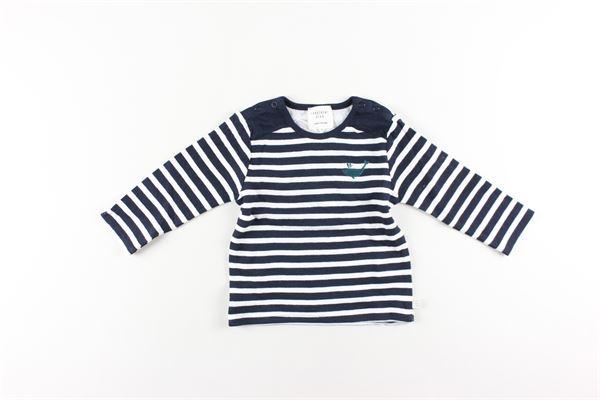 shirt fantasia a righe CARRE'MENT BEAU | Shirts | Y95190BLU