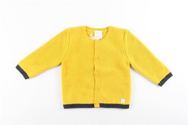 cardigan tinta unita 85%cotone 15%lana CARRE'MENT BEAU | Cardigan | Y95230SENAPE