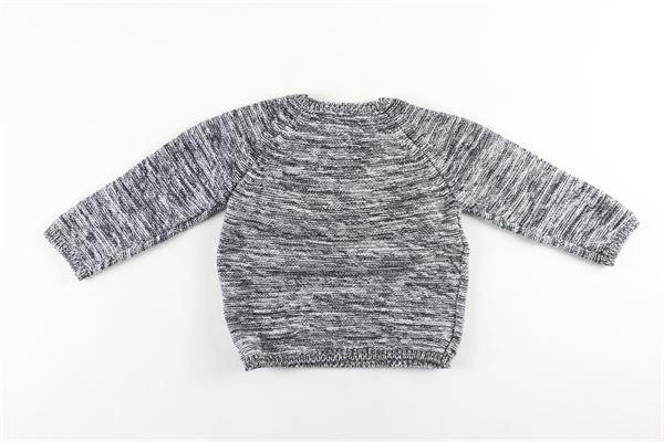 maglia manica lunga girocollo 85%cotone 15%lana CARRE'MENT BEAU | Maglie | Y95241GRIGIO