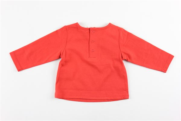 shirt tinta unita con stampa 100%cotone CARRE'MENT BEAU | Shirts | Y95252ROSSO