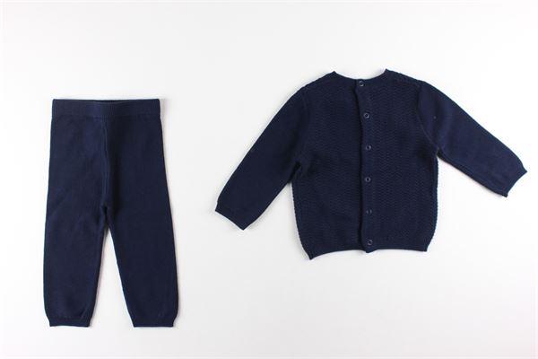 maglia girocollo e pantalone tinta unita CARRE'MENT BEAU | Completi | Y98067BLU