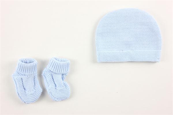 cappello e babbucce tinta unita CARRE'MENT BEAU | Cappelli | Y98077CELESTE