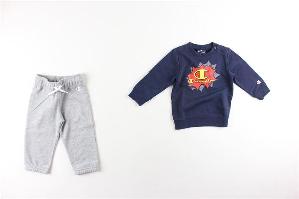 completo felpa+ pantalone tuta CHAMPION | Completi | 305285BLU