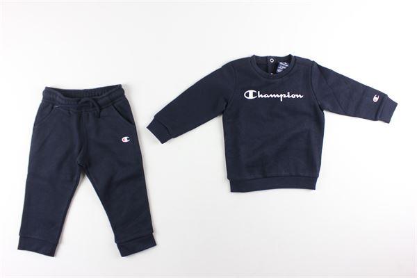 completo felpa+ pantalone tuta CHAMPION | Completi | 305420BLU