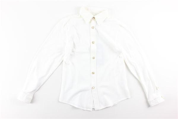 camicia manica lunga tinta unita CIRCOLO | Camicie | BCN338BIANCO