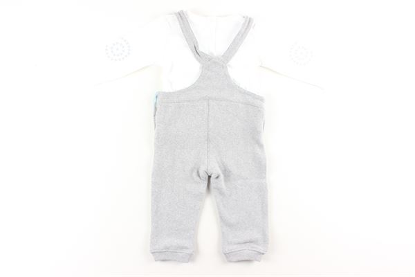 completo salopettes+ shirts COCCODE | Completi | C50217GRIGIO